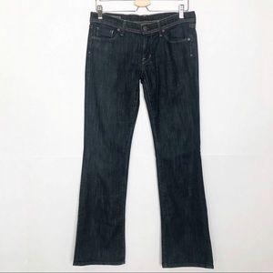 EUC COH dark wash electric guitar bootcut jeans